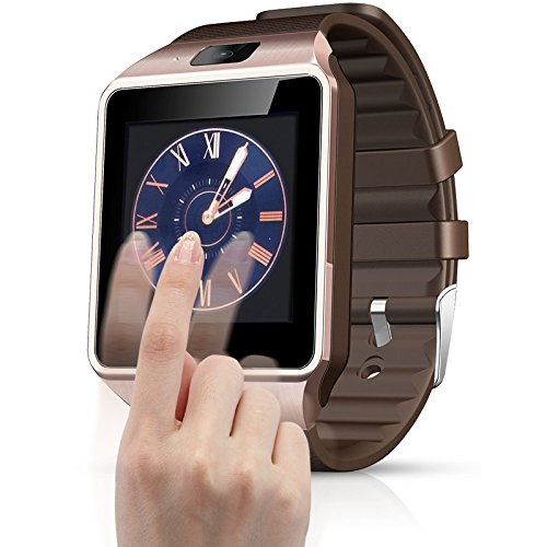 AirsspuTMbluetooth Smart Watch Phone Touch Screen Multilanguage Android Mobile Phone