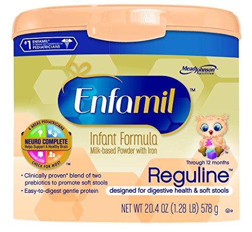 Enfamil Reguline Milk-Based Powder with Iron Infant Formula, 20.4 Ounce