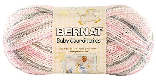 Bernat Baby Coordinates Yarn, Ombre, 4.2 Ounce, Dove Girl
