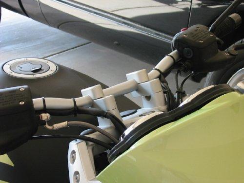Moto Techniques BMW R1150R R1200R up to 2010 Handlebar Risers 513-062M