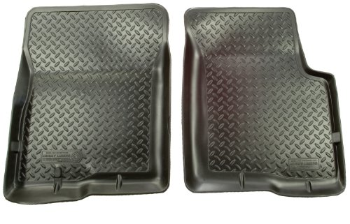 Husky Liners Classic Style Custom Fit Molded Front Floor Liner for Select Jeep Wrangler YJ Models (Black)