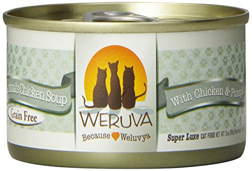 Weruva Cat Food, Grandma's Chicken Soup, 3-Ounce Packages (Pack of 24)