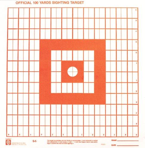 Hoppe's Orange Fluorescent Targets (Sighting In)