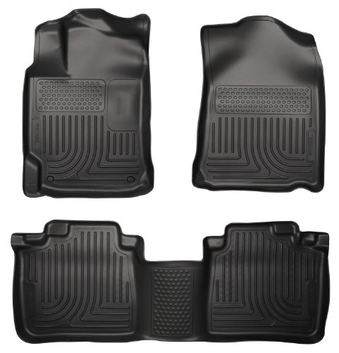 Husky Liners 98961 WeatherBeater Black Front and 2nd Seat Floor Liner for Lexus ES 300h/ES 350