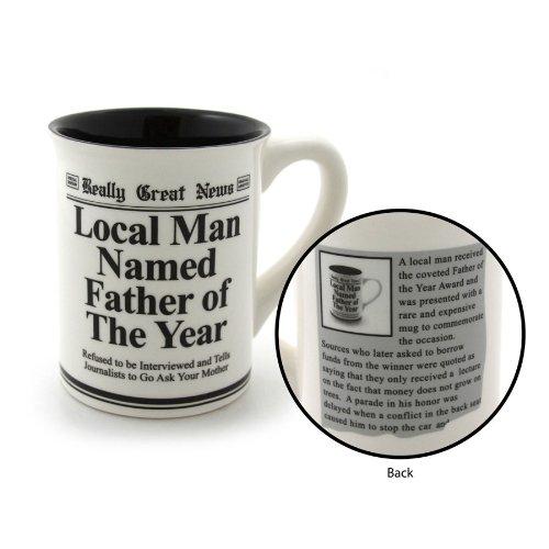 Enesco FATHER OF THE YEAR Mug, 4.5-Inch