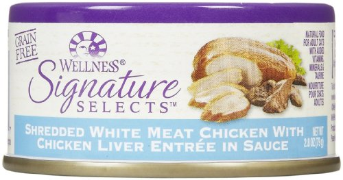 Wellness Signature Selects Shredded Chicken & Chicken Liver - 24x2.8oz