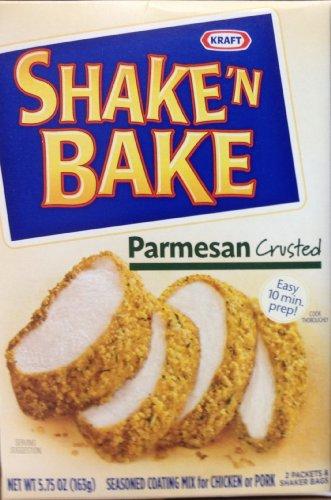 Shake 'N Bake PARMESAN CRUSTED Seasoned Coating Mix 5.75 (6 Boxes)