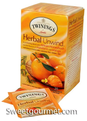 Twinings Honeybush Mandrine Orange Tea (6x20 Bag)