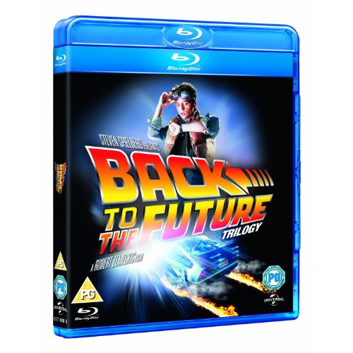 Back to the Future Trilogy [Blu-ray] [Region Free]