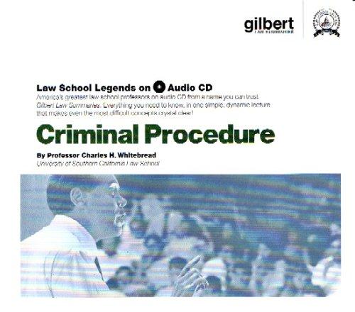 Criminal Procedure (Law School Legends Audio Series)