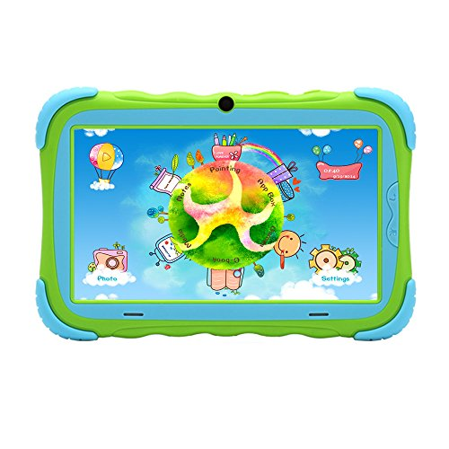 IRULU New Y1 KidPad 7 Inch Tablet PC, Parent Control, Android 4.2 Jelly Bean,8GB - Green