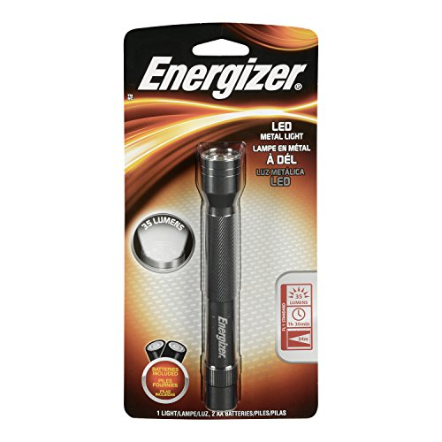 Energizer Metal LED Light, Silver(EVEENML2AAS)