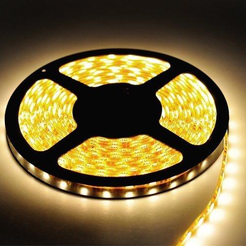 Triangle Bulbs® Warm White Flexible Ribbon High Quality LED Strip Light, 300 LEDs, 16.4 Ft/5 Meters,