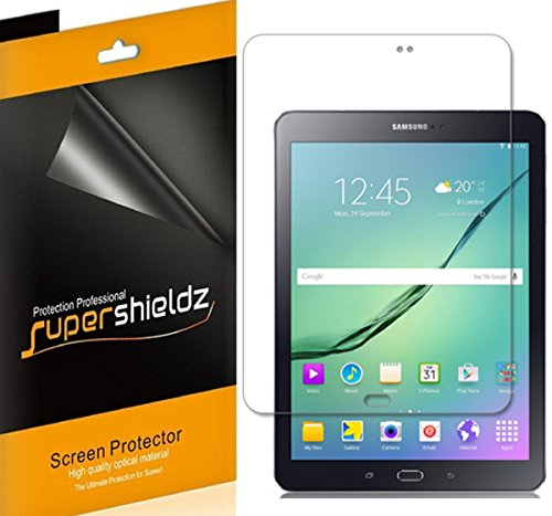 [3-Pack] Supershieldz- Anti-Glare & Anti-Fingerprint (Matte) Screen Protector For Samsung Galaxy Tab S2 9.7 inch + Lifetime Replacements Warranty- Retail Packaging