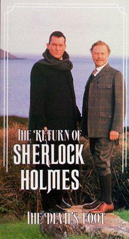 The Return of Sherlock Holmes: The Devil's Foot [VHS]