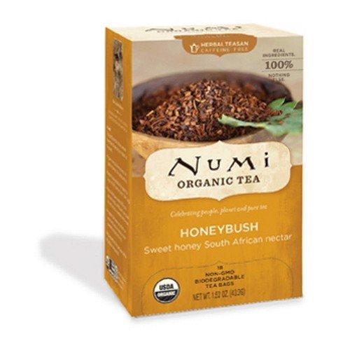 Numi Organic Tea Honeybush, Herbal Teasan