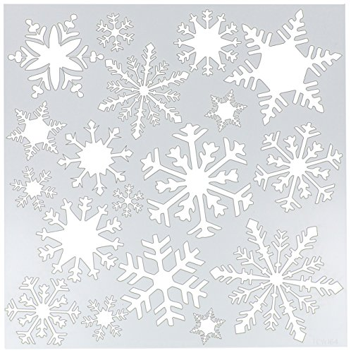 Crafter's Workshop Templates 12X12-Flurries