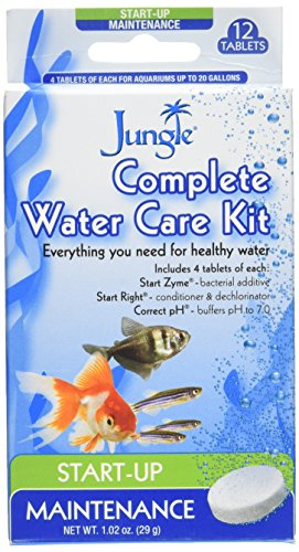 Jungle Laboratories AJUJ92010 12-Tablets Complete Water Care Kit for Aquarium
