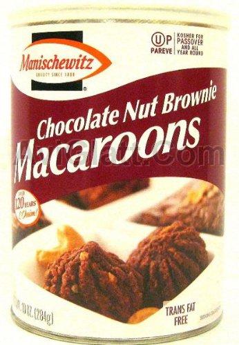 Manischewitz Passover Chocolate Nut Brownie Macaroons 10 oz