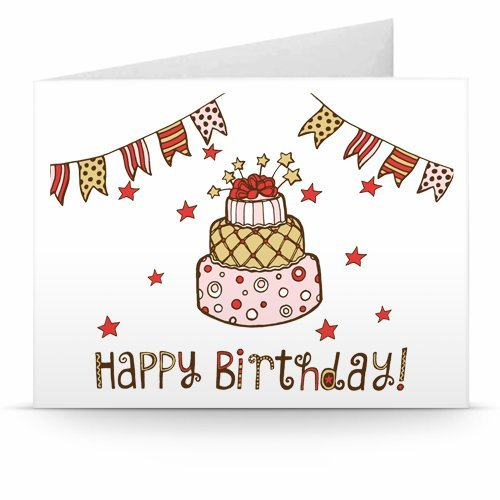 Happy Birthday (Buntings) - Printable Amazon.co.uk Gift Voucher