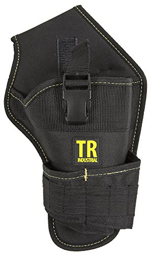 TR Industrial 88020 Durable Cordless Drill Holster + 12 Small Pockets