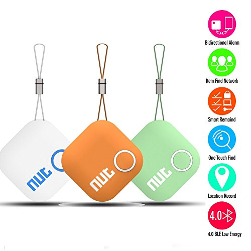 Intelligent Bluetooth Anti-lost Tracking Tag Alarm Patch TWOBIU Smart Tag Nut 2 Bluetooth Anti-lost Tracker Tracking Wallet Key Tracer Finder Alarm Patch GPS Locator Finder for iOS / iPhone / iPod / iPad / Android