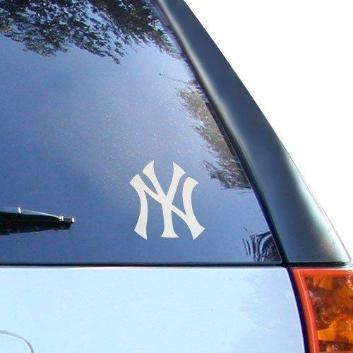 MLB Yankees New York Window Graphic Sticker, 9 x 5 x 0.2, Team Logo