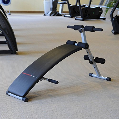 Crescendo Fitness Curve Sit Up Bench