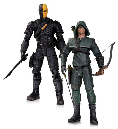 DC Collectibles Arrow Oliver Queen and Deathstroke Action Figure, 2-Pack