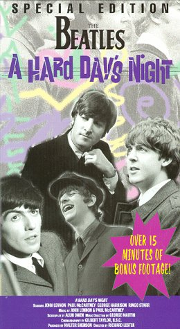 The Beatles: A Hard Day's Night [VHS]