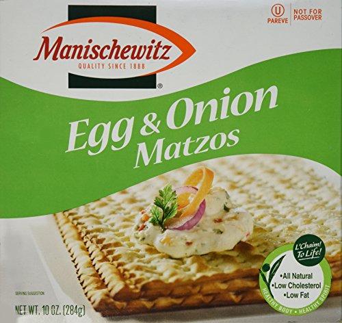 Manischewitz Egg & Onion Matzo, 10 oz