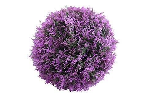 Gardman 30 cm Diameter Topiary Ball Pink Flower Effect