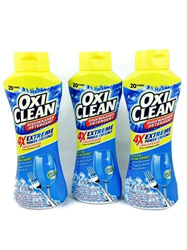 (Pack Of 3) OxiClean Dishwasher Detergent 12.7oz