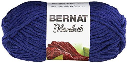 Spinrite Blanket Yarn, Navy