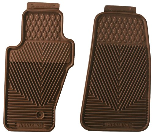 Highland 4403600 All-Weather Tan Front Seat Floor Mat