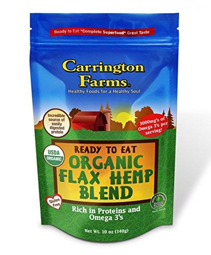 Carrington Farms Ready To Eat Organic Flax Hemp Blend, 10 Ounce