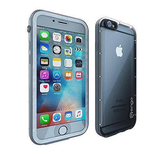 Mengo Hydro Series iPhone 6S Waterproof Case (4.7 Version) Thin, Light Weight, Dustproof & Shockproof (Clear)