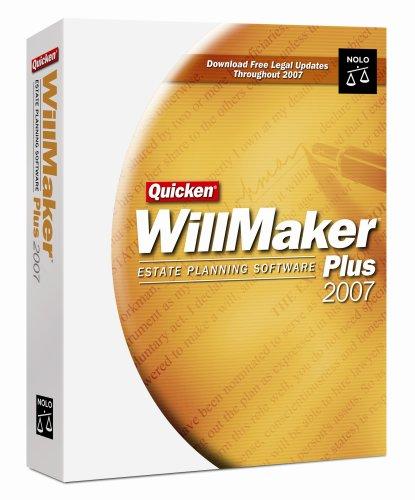 Quicken Willmaker Plus 2007 [OLD VERSION]