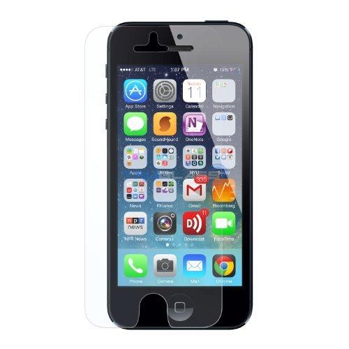 Cruzerlite TRUGLASS Flexible Glass Screen Protectors for Apple iPhone 5 - Retail Packaging