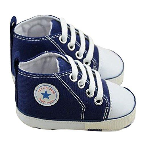 Dealzip Inc® Baby Toddler Infant Boy Girl Sneakers Canvas Sneaker for Prewalker(3-6 months,Pink)