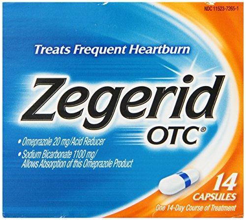 Zegerid OTC Capsules, 14 count