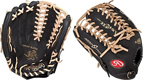 Rawlings Heart of the Hide Dual Core 12.75-inch Outfield Baseball Glove, Left-Hand Throw (PRO601DCC)