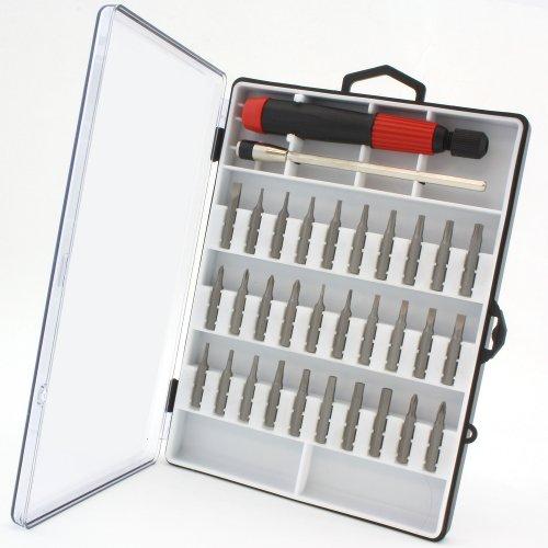 Anytime Tools 30 pc MICRO PRECISION SCREWDRIVER SET w/ T4 T5 T6 Mini Torx, Hex, Flat, Pozi
