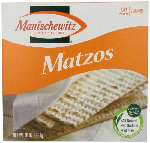 Manischewitz Unsalted Matzo, 10 oz