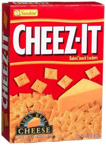 Cheez-It Baked Snack Crackers Cheez it 13.7oz Cheez It
