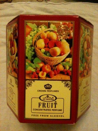 FRUIT AL REHAB ARABIAN PERFUME OIL- BULK BUY (6 BOTTLES)*FREE DELIVERY*