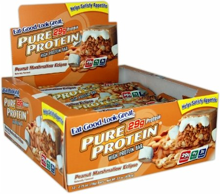 Pure Protein - High Protein Bar Peanut Butter Caramel - 6 x 2.01 oz. Bars