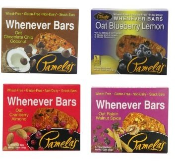 Pamela's Products Whenever Bars Variety 8 Pack -