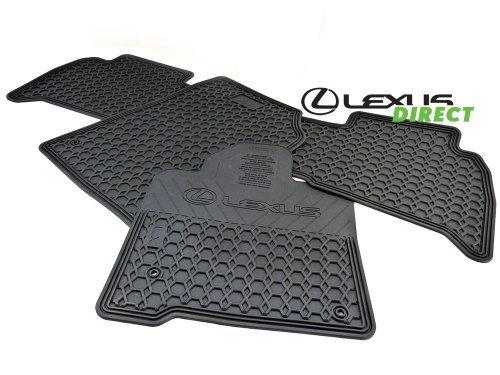 Lexus Genuine Parts PU320-60111-01 OEM LX570 All Weather 4-Piece Floor Mat Set