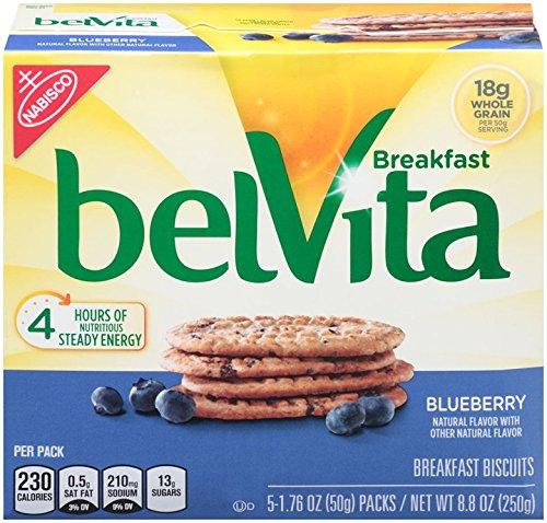 Belvita Breakfast Biscuit, Blueberry, 8.8 Ounce (Pack of 3)